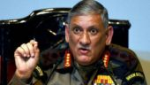 Army chief Bipin Rawat. File photo