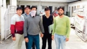 Crime branch officials nabbed Harsh of the Rajesh Bharti gang who executed contract killings for extortion or revenge.