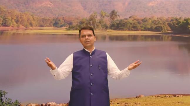 Maharashtra CM Devendra Fadnavis features in 'Mumbai River Anthem'
