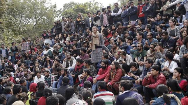 Attendance row: FIRs against JNU students for blocking admin office