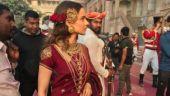 Manikarnika: Kangana Ranaut looks every bit regal in this new still from the sets