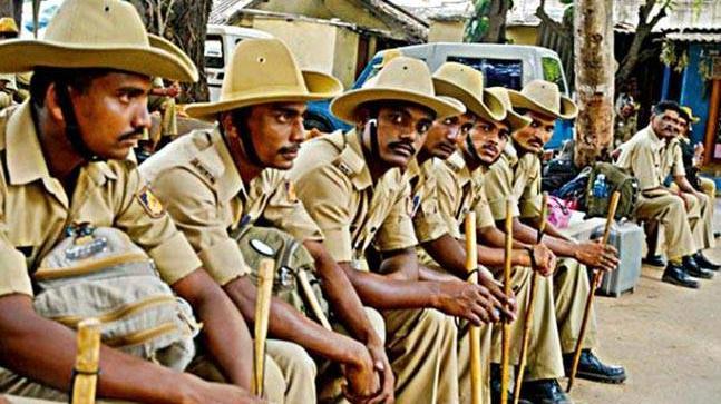 Representative image of Karnataka Police (Image:PTI)