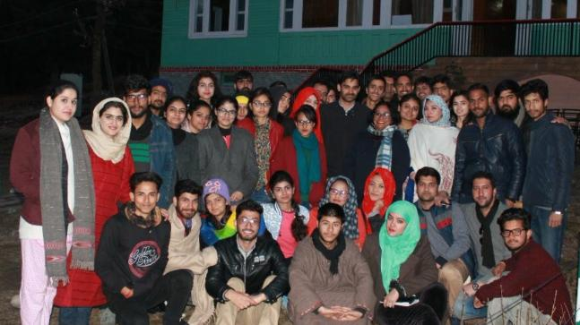 Youngsters from Jammu- Kashmir and Ladakh had come together for this workshop