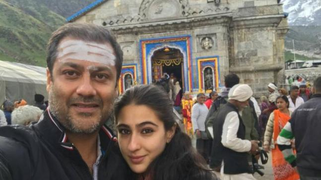 Abhishek Kapoor and Sara Ali Khan