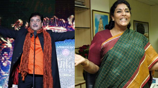 Shatrughan Sinha and Renuka Chowdhary