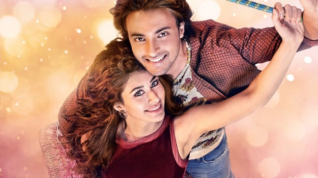 On Valentine's Day, Salman unveils first poster of 'Loveratri'