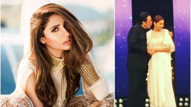 Did Mahira Khan dodge a kiss from Javed Sheikh? Hear the truth from
