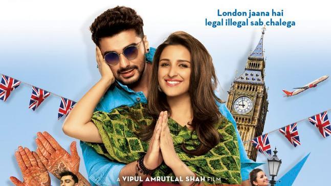 Arjun Kapoor and Parineeti Chopra in the poster of Namaste England