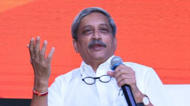 CM Manohar Parrikar admitted to Goa hospital