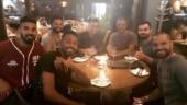 Virat Kohli, MS Dhoni celebrate Johannesburg T20I win over dinner with teammates