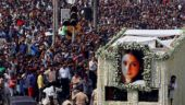 Sridevi funeral: Daughters Janhvi and Khushi light the pyre to bid final goodbye