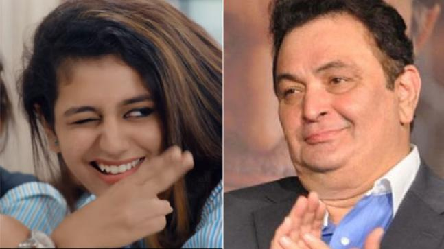 Rishi Kapoor predicts 'huge stardom' for Priya Prakash Varrier
