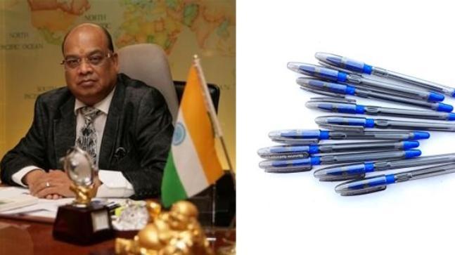 Rotomac pen promoter Vikram Kothari