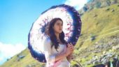 Sara Ali Khan in a still from Kedarnath