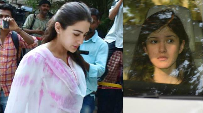 Sara Ali Khan and Shanaya Kapoor