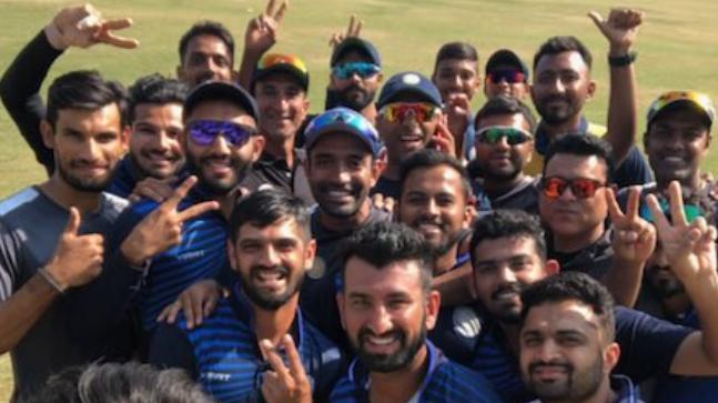 Saurashtra Cricket Twitter Photo