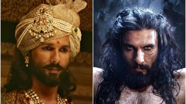 Shahid Kapoor, Ranveer Singh from Padmaavat