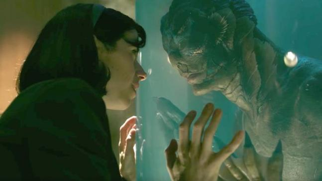 A still from The Shape of Water