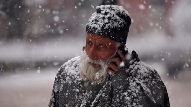 Fresh Snowfall Recorded From Parts Of Kashmir Today Reuters Image