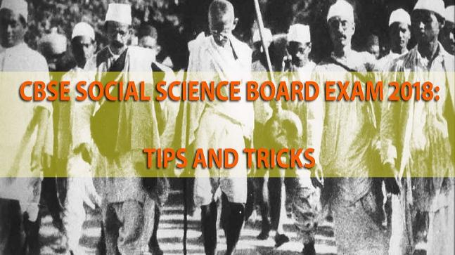 CBSE Class 10 Social Science Board Exam 2018: Expected