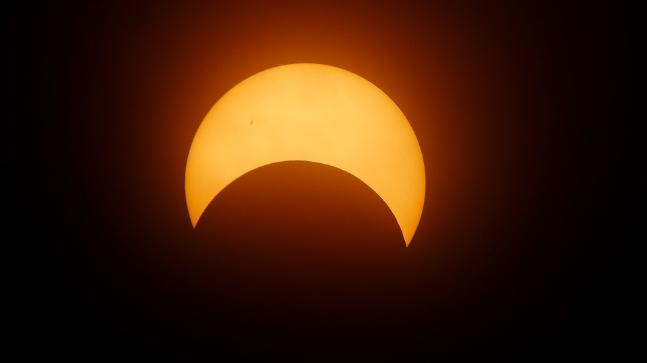 Solar Eclipse Of February 2018 Was Seen By Nasa In Space