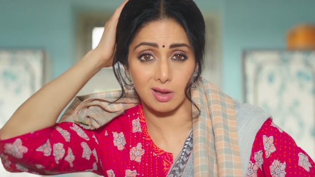 Sridevi in a still from the Ching's commercial
