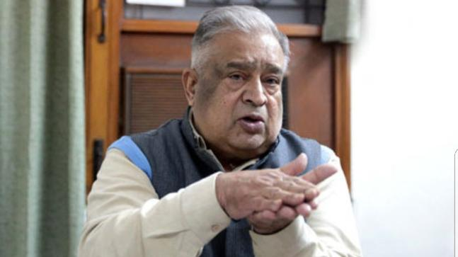 Former Cabinet Secretary TSR Subramanian died today
