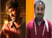 Hrithik Roshan in the first look of Super 30 (L) and Anand Kumar