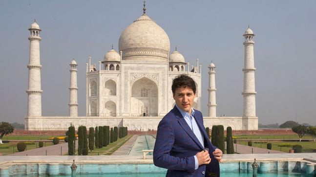 Canadian PM In Mumbai To Promote Trade