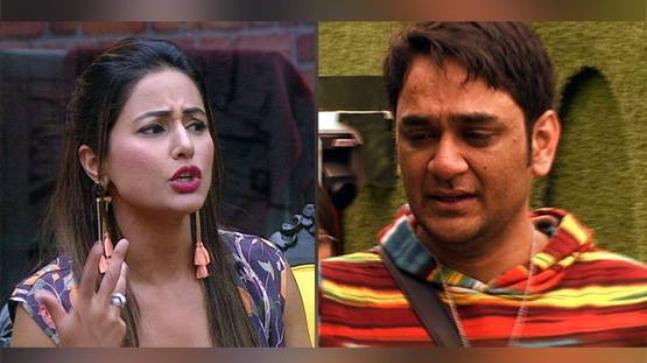 Hina Khan and Vikas Gupta