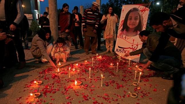 Can Pakistan publically hang killer of Zainab Amin?