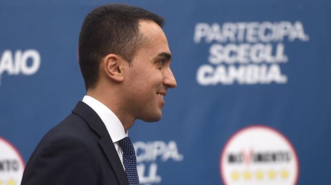 Luigi Di Maio, party leader of the Five Star Movement