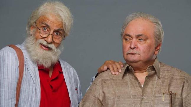 Amitabh, Rishi Kapoor bring father-son combo in