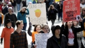 Thousands register to vote at US gun-control marches