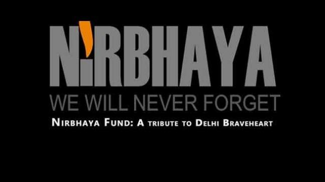 Nirbhaya Fund for women safety