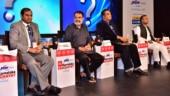 On the panel were Sridhar Pabbishetty, CEO, Namma Bengaluru Foundation, TV Mohandas Pai, chairman, Manipal Global Education, Priyank Kharge, minister of state for IT and tourism and Srivatsa Krishna, secretary, IT department, Karnataka
