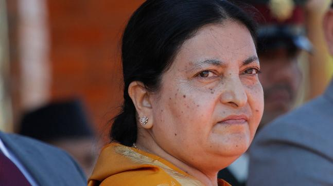 Bidya Devi Bhandari (Photo: AP)