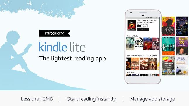 Amazon Launches Kindle Lite app for Indian Android Users