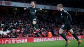 Manchester City close in on Premier League title after thrashing Arsenal