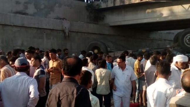 Truck carrying Baarat falls into a drain, kills 25 people