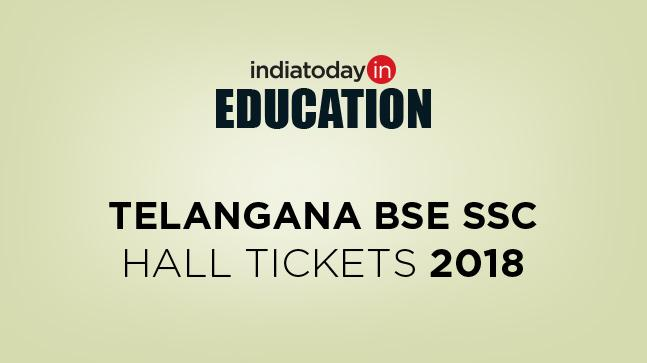 Telangana BSE SSC Hall Tickets 2018