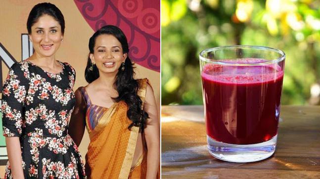 Kareena Kapoor and Rujuta Diwekar; A.B.C juice