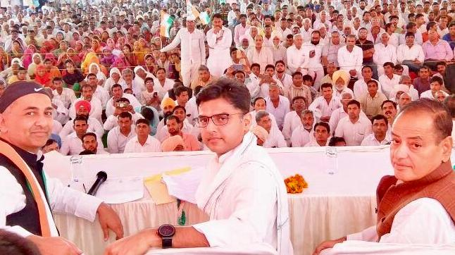Rajasthan Congress chief Sachin Pilot (Photo: Twitter/@SachinPilot)