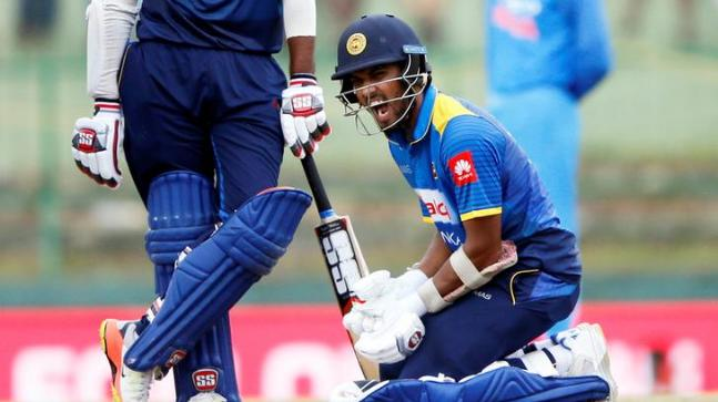 Nidahas Trophy: Dinesh Chandimal found guilty of a serious over-rate offence in Saturday's T20I vs Bangladesh (Reuters Photo)