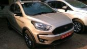 Ford Freestyle spotted at dealership storage yard, launch soon