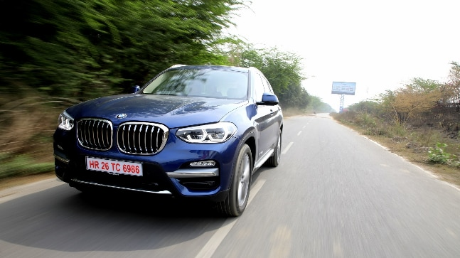 The new X3 is based on a new platform which has seen considerable stiffening and also uses light weight materials which has allowed the X3 to shed considerable weight.