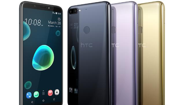 HTC unveil Desire 12 and 12+ smartphones