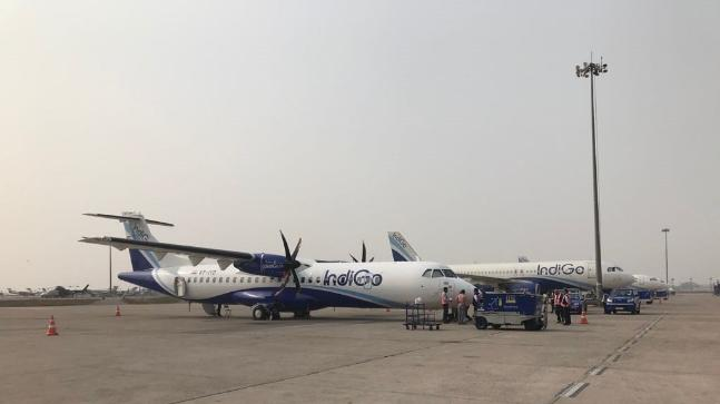 Image for representation. Photo: IndiGo6E/Twitter