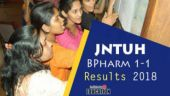 JNTUH BPharm Result 2018 of 1-1 regular/supply exams declared at jntuhresults.in: How to check