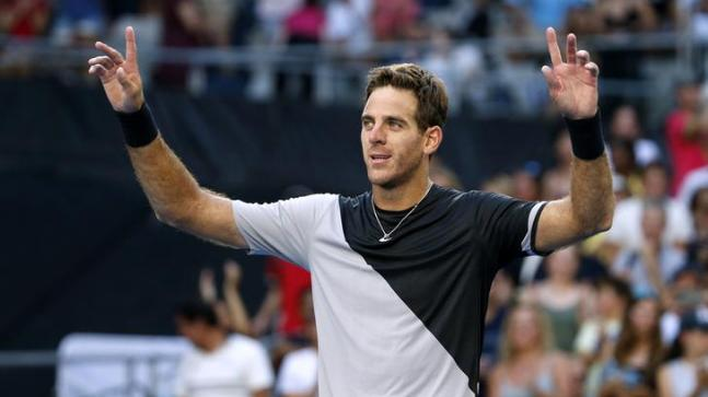 Juan Martin del Potro defeated Kevin Anderson in the Mexican Open final (Reuters Photo)